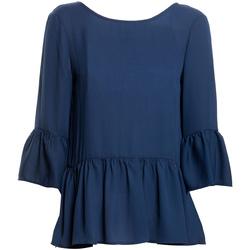 Oblečenie Ženy Blúzky Fracomina FR20SP040 Modrá