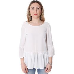 Oblečenie Ženy Blúzky Fracomina FR20SP040 Biely