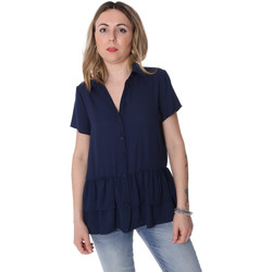 Oblečenie Ženy Košele a blúzky Fracomina FR20SP039 Modrá