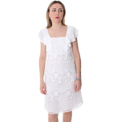 Oblečenie Ženy Krátke šaty Fracomina FR20SP584 Biely