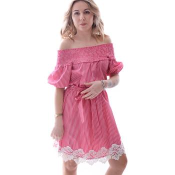 Oblečenie Ženy Krátke šaty Fracomina FR20SP526 Červená