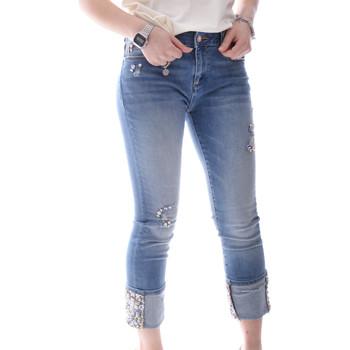 Oblečenie Ženy Rifle Slim  Fracomina FR20SPJGAIA1 Modrá