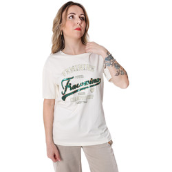 Oblečenie Ženy Tričká s krátkym rukávom Fracomina FR20SP305 Biely