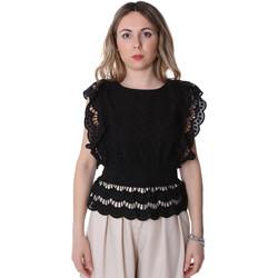 Oblečenie Ženy Blúzky Fracomina FR20SP586 čierna