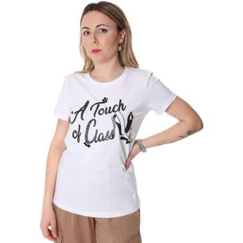 Oblečenie Ženy Tričká s krátkym rukávom Fracomina FR20SP306 Biely