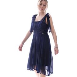Oblečenie Ženy Krátke šaty Fracomina FR20SP599 Modrá
