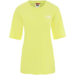 Oblečenie Ženy Tričká s krátkym rukávom The North Face NF0A4CESVC51 žltá