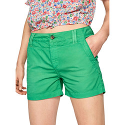 Oblečenie Ženy Šortky a bermudy Pepe jeans PL800695 Zelená