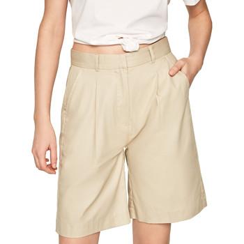 Oblečenie Ženy Šortky a bermudy Pepe jeans PL800886 Béžová