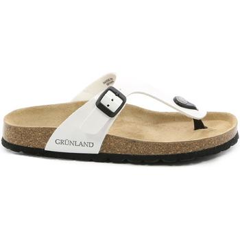 Topánky Ženy Žabky Grunland CB0025 Biely