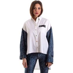 Oblečenie Ženy Košele a blúzky Versace B0HVB606S0683904 Biely