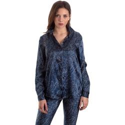 Oblečenie Ženy Košele a blúzky Versace B0HVB601S0683904 Modrá