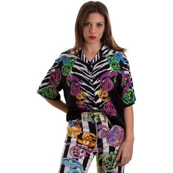 Oblečenie Ženy Košele a blúzky Versace B0HVB604S0793983 čierna