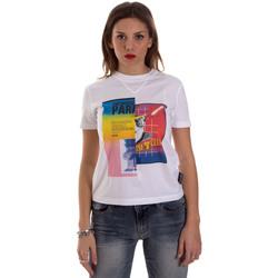 Oblečenie Ženy Tričká s krátkym rukávom Versace B2HVB7V630331003 Biely