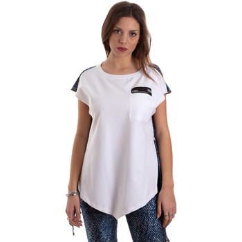 Oblečenie Ženy Tričká s krátkym rukávom Versace D3HVB657S0683904 Biely