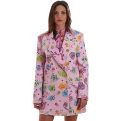 Oblečenie Ženy Saká a blejzre Versace C2HVB507SN75SK69 Ružová