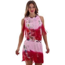 Oblečenie Ženy Krátke šaty Versace D2HVB406S0777K67 Biely