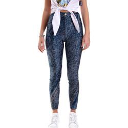 Oblečenie Ženy Legíny Versace A1HVB009S0684904 Modrá