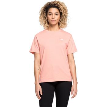 Oblečenie Ženy Tričká s krátkym rukávom Fila 687469 Ružová