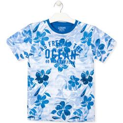 Oblečenie Chlapci Tričká s krátkym rukávom Losan 013-1003AL Modrá