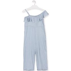 Oblečenie Dievčatá Módne overaly Losan 014-7022AL Modrá