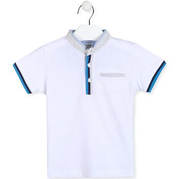 Oblečenie Chlapci Polokošele s krátkym rukávom Losan 015-1791AL Biely