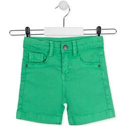Oblečenie Deti Šortky a bermudy Losan 015-9009AL Zelená