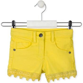 Oblečenie Deti Šortky a bermudy Losan 016-9001AL žltá