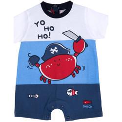 Oblečenie Chlapci Módne overaly Chicco 09050813000000 Modrá