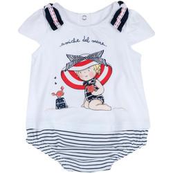 Oblečenie Dievčatá Módne overaly Chicco 09050711000000 Biely