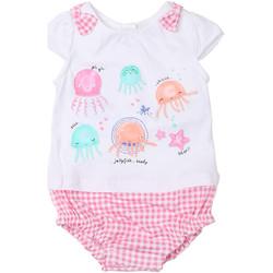 Oblečenie Dievčatá Módne overaly Chicco 09050812000000 Biely