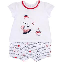 Oblečenie Dievčatá Komplety a súpravy Chicco 09076458000000 Biely