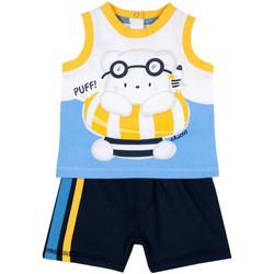 Oblečenie Chlapci Komplety a súpravy Chicco 09076376000000 Modrá