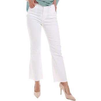 Oblečenie Ženy Rifle Bootcut  Gaudi 011BD25017 Biely