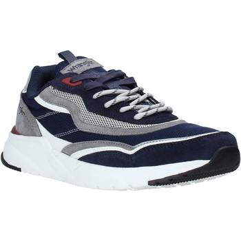 Topánky Muži Nízke tenisky Wrangler WM01111A Modrá