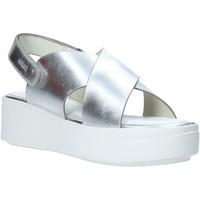 Topánky Ženy Sandále Impronte IL01529A Striebro
