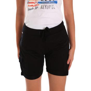 Oblečenie Ženy Šortky a bermudy Key Up 5G75F 0001 čierna