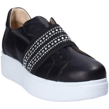 Topánky Ženy Slip-on Exton E05 čierna