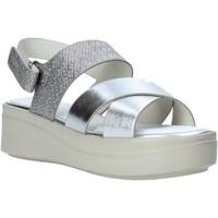 Topánky Ženy Sandále Impronte IL01548A Striebro