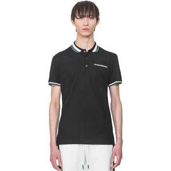 Oblečenie Muži Polokošele s krátkym rukávom Antony Morato MMKS01713 FA100083 čierna