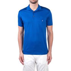 Oblečenie Muži Polokošele s krátkym rukávom Navigare NV72062 Modrá