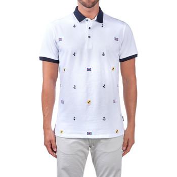 Oblečenie Muži Polokošele s krátkym rukávom Navigare NV82120 Biely