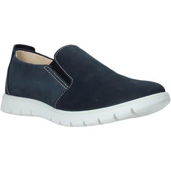Topánky Muži Slip-on IgI&CO 5115300 Modrá