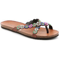 Topánky Ženy Žabky Grunland CB2502 Hnedá