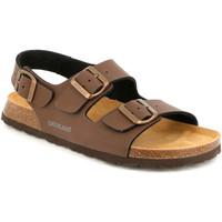Topánky Muži Sandále Grunland SB3645 Hnedá
