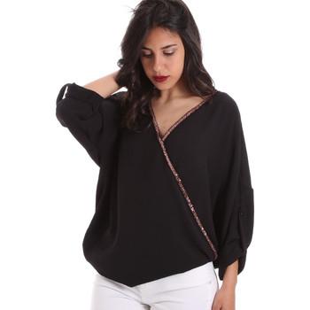 Oblečenie Ženy Blúzky Gaudi 011BD45026 čierna
