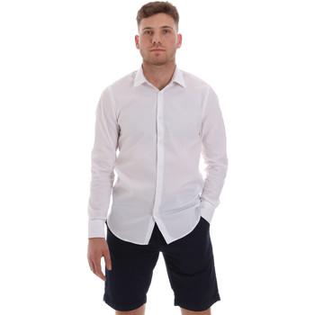 Oblečenie Muži Košele s dlhým rukávom Sseinse CE506SS Biely