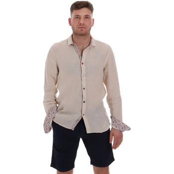 Oblečenie Muži Košele s dlhým rukávom Sseinse CE538SS Béžová