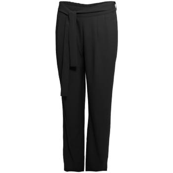 Oblečenie Ženy Padavé nohavice Smash S1829415 čierna