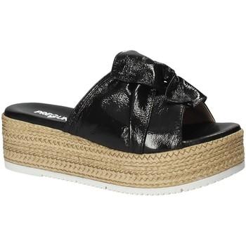 Topánky Ženy Šľapky Pregunta IL02402-CL čierna
